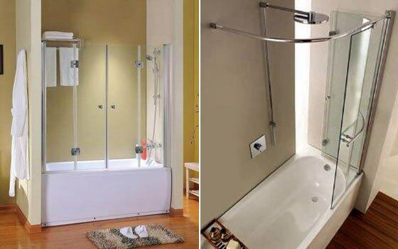 Самодельная штора для ванны